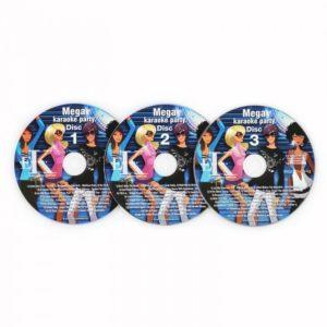 Auna karaoke CD+G set