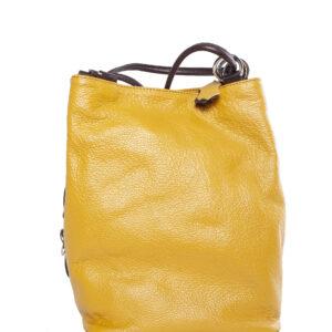 Sárga bőr táska