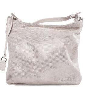Fehér bőr táska