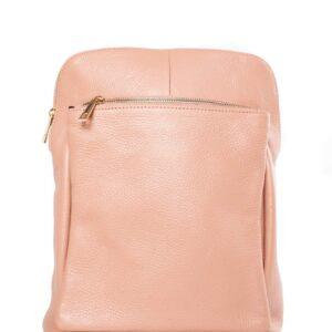 Narancssárga bőr hátizsák