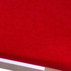 Homa frottír lepedő piros