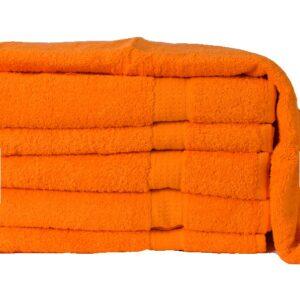 Homa törölköző narancssárga 50x100cm