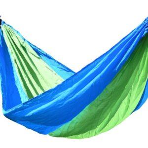 Ringató hálózat  ülés Cattara NYLON 275x137cm zöld-kék