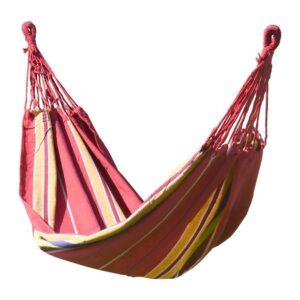 Ringató hálózat  ülés Cattara Textiles 200x100cm piros-sárga