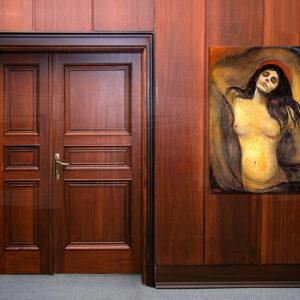 Vászonkép MADONNA - Edvard Munch  REP102 (reprodukció 80x60 cm)