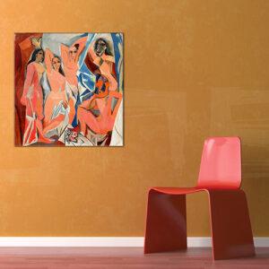 Vászonkép AZ AVIGNONI KISASSZONYOK - Pablo Picasso REP106