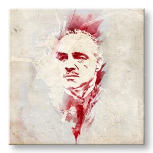 Vászonkép Godfather Marlon Brando - AQUArt / Tom Loris 006AA1 ()