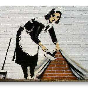 Vászonkép Street Art - Banksy XOBBA027O1 (modern vászonképek)