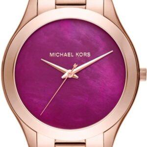 Női karóra Michael Kors Slim Runway MK3550 - A számlap színe: lila