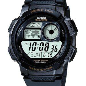 Női karóra Casio World Timer AE-1000W-1AVEF - Vízállóság: 100m