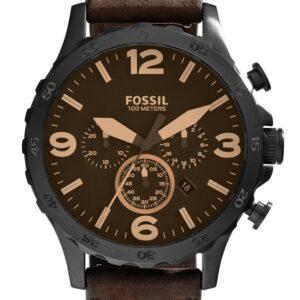 Női karóra Fossil Nate Chronograph JR1487 - A számlap színe: barna