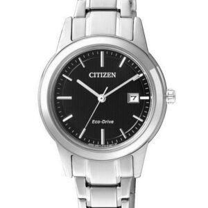 Női karóra Citizen Eco-Drive Ring FE1081-59E - A számlap színe: fekete