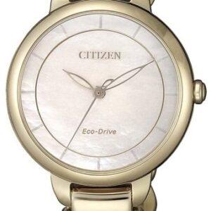 Női karóra Citizen Elegant EM0673-83D - A számlap színe: bézs