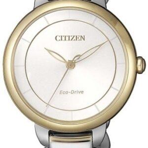 Női karóra Citizen Elegant EM0674-81A - A számlap színe: fehér