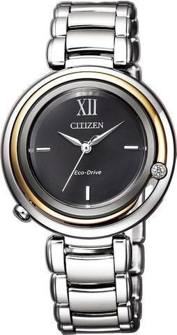 Női karóra Citizen Elegant EM0658-87E - A számlap színe: fekete