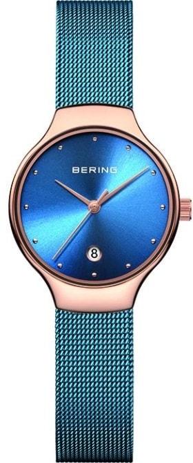 Női karóra Bering Classic 13326-368 - A számlap színe: kék