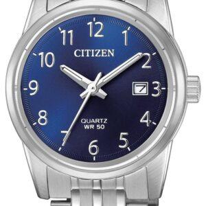 Női karóra Citizen Ctizen Quartz EU6000-57L - A számlap színe: kék