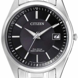 Női karóra Citizen Radio Controlled AS2050-87E - A számlap színe: fekete