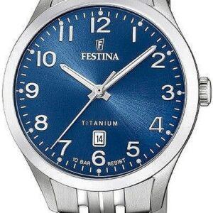 Női karóra Festina Titanium 20468/2 - A számlap színe: kék