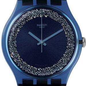 Női karóra Swatch Blusparkles SUON134 - A számlap színe: kék