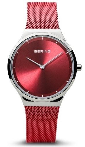 Női karóra Bering Classic 12131-303 - A számlap színe: piros
