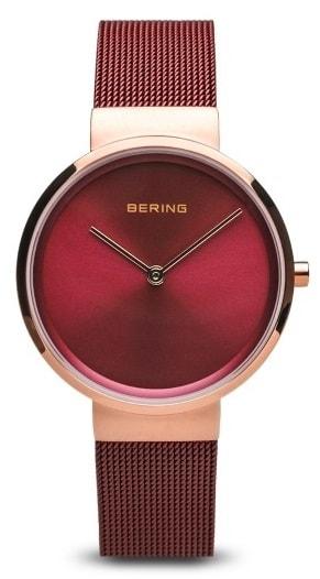 Női karóra Bering Classic 14531-363 - A számlap színe: piros