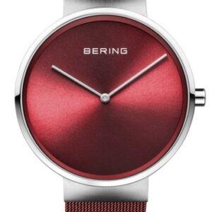 Női karóra Bering Classic 14539-303 - A számlap színe: piros