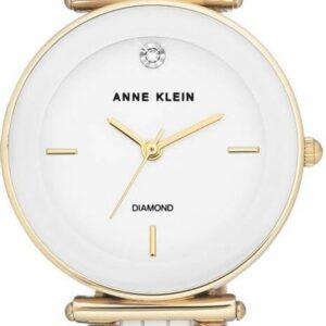 Női karóra Anne Klein AK/N3158WTGB - A számlap színe: fehér