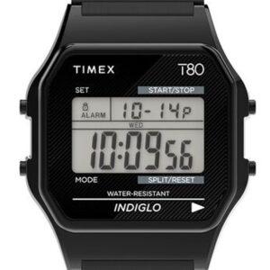 Női karóra Timex T80 TW2R67000 - A számlap színe: LCD