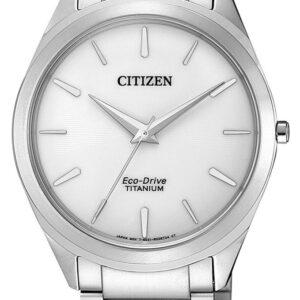 Női karóra Citizen Super Titanium BJ6520-82A - A számlap színe: ezüst