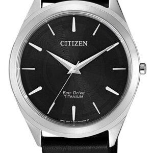 Női karóra Citizen Titanium BJ6520-15E - A számlap színe: fekete