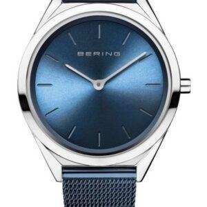 Női karóra Bering Ultra Slim 17031-307 - A számlap színe: kék