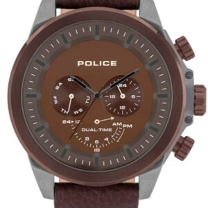 Női karóra Police Belmont PL15970JSUBZ/12 - A számlap színe: barna