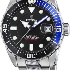 Női karóra Festina Automatic Diver 20480/3 - Vízállóság: 100m
