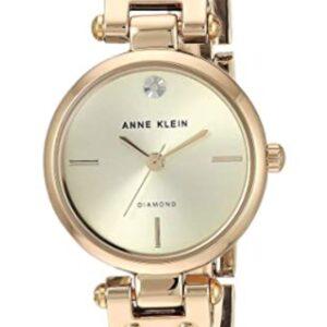 Női karóra Anne Klein AK/3003CHBK - A számlap színe: arany