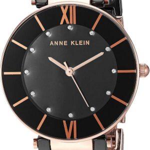 Női karóra Anne Klein AK/3266BKRG - A számlap színe: fekete