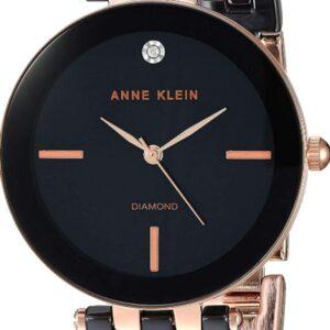 Női karóra Anne Klein AK/3310BKRG - A számlap színe: fekete