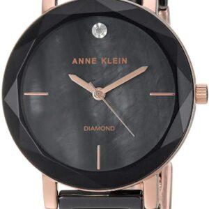 Női karóra Anne Klein AK/3364BKRG - A számlap színe: fekete