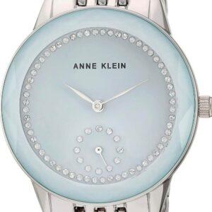 Női karóra Anne Klein AK/3507LGSV - A számlap színe: kék