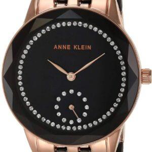 Női karóra Anne Klein AK/3612BKRG - A számlap színe: fekete