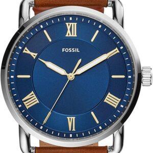 Női karóra Fossil Copeland Three-Hand FS5661 - A számlap színe: kék