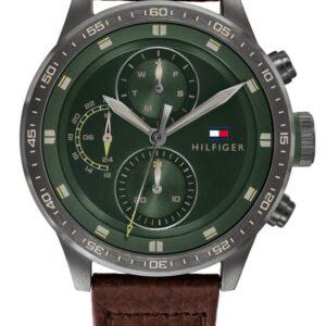 Női karóra Tommy Hilfiger Trent 1791809 - A számlap színe: zöld