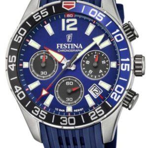 Női karóra Festina Chrono Sport 20517/1 - A számlap színe: kék