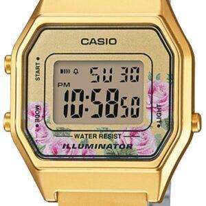 Női karóra Casio LA-680WEGA-4C - Vízállóság: 30m (páraálló)