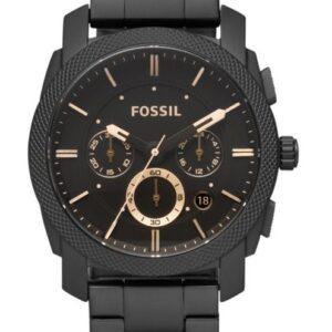 Női karóra Fossil Machine Chronograph FS4682 - Vízállóság: 50m (felszíni úszás)