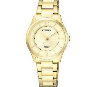 Női karóra Citizen Sports ER0203-85P - A számlap színe: arany