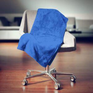 Mikroplüss pléd 150x200 cm - Kék