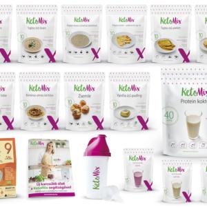 4 hetes ketogén diéta - Proteindús ételek KETOMIX