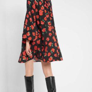 Virágmintás trapéz ruha ORSAY