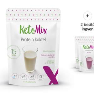 Fehérje koktél 450 g (15 adag) - Proteindús ételek KETOMIX